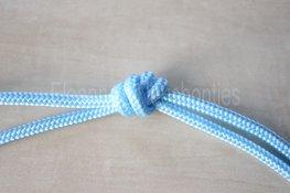 Touwhalster- Babyblauw