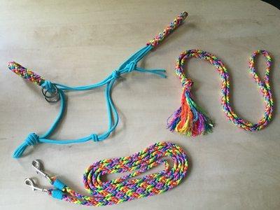 SET! Touwhalster+teugels+neckrope